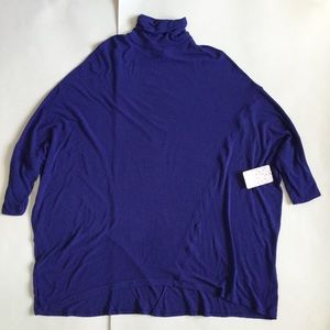 We the Free FP Purple  Blue Dolman Tunic Top Small